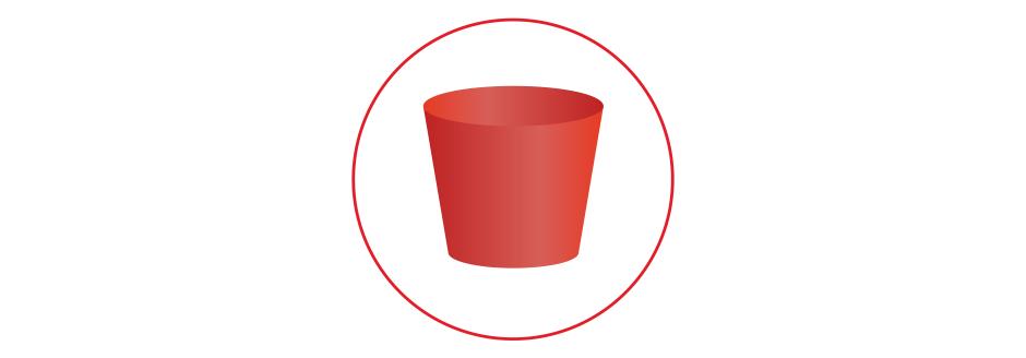 Gummistopfen rot
